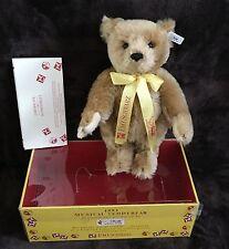 """Steiff FAO Schwarz 12"""" Musical Teddy Bear-LE-Mohair!"""