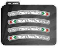 4 Adesivi Marchesini FORGED Ducati monster 996,998,1098,1199,DIAVEL,HYPERMOTARD