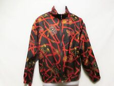 EVR/ROUSSO APPAREL Vintage Silk Light Jacket/Windbreaker Sz-M Equestrian Riding