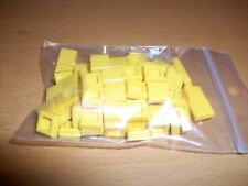 LEGO YELLOW TILE 1 X 1 PART NUMBER 3070b (PACK OF 10)