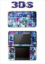 SKIN STICKER AUTOCOLLANT DECO POUR NINTENDO 3DS REF 56 LOVE