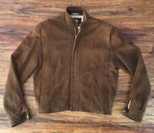 Men's Golden Bear Suede Leather Jacket Size 38 (Small) Made In The USA