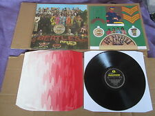 THE BEATLES Sgt. Pepper's Lonely Hearts Club Band LP RARE WIDE SPINE UK ORIGINAL