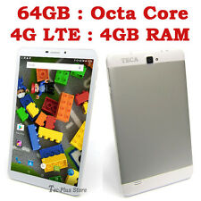 "NUEVO TECA LTE840 4G OCTA CORE 4GB-RAM 64GB 8"" FHD ANDROID 5.1 TABLET MOVILE c"