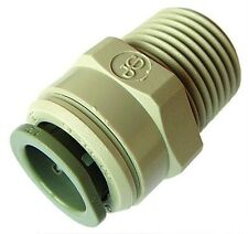 Straight Adaptor John Guest Fittings Part Number - PI010801S (x2)