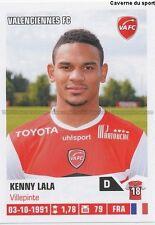 N°465 KENNY LALA # VALENCIENNES.FC VAFC STICKER FOOT 2014 PANINI