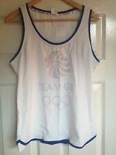 LADIES BNWT GENUINE TEAM GB OLYMPICS 2012  T-SHIRT SIZE 16