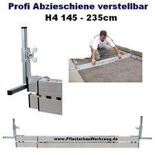 Profi Abziehschiene verstellbar H4 145 bis 230cm Schüttgutlehre Pflasterarbeiten