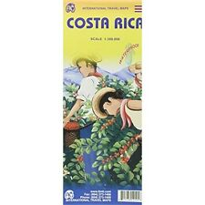 Costa Rica Travel Reference Map 1:300,000  [Map] [Jan 11, 2012] ITMB Canada