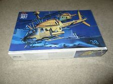 MRC OH-58D Warrior Thugs Helicopter W/ 2 Figures 1:35 Model MISB Sealed 1996