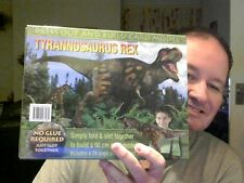 T-REX PRESS OUT & BUILD CARD MODEL GREAT GIFT! CHARITY