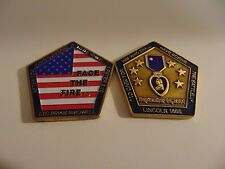 CHALLENGE COIN SEPTEMBER 11TH, 2001 LTC BRIAN BIRDWELL PURPLE HEART LINCOLN 1865