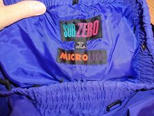 SPORT USA PURPLE SUB ZERO MICRO LITE SKI PANTS MENS MEDIUM MINT!!