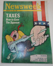 Newsweek Magazine How To Ease The Squeeze February 1969 VINTAGE 093016R