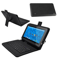 "9"" inch Tablet PC Android 4.4 Quad core 8GB Dual Camera Bluetooth w/ Keyboard"