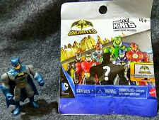 BATMAN UNLIMITED Mighty Mini's (series 1). Blue Batman™ w/ Cape Mini Figures.