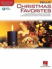 Christmas Favorites Cello BKCD Instrumental Play-Along