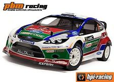 SALE HPI Ford Fiesta RS WRC Painted WR8 RC Body Shell - 108025