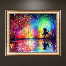 DIY 5D Diamond Painting Horse Embroidery Cross Crafts Stitch Home Decor