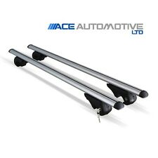 ALUMINIUM SILVER AERO ROOF BARS FITS SUZUKI GRAND VITARA 5 DOOR 1998-2005