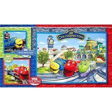 .7 Yards Quilt Cotton Fabric - Spectrix Chuggington Train Panel