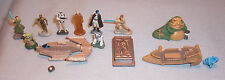 Star Wars Micro Machine Figure Luke Han Solo Carbonite Jabba Max Rebo Mara Jade