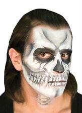SKULL SKELETON VOO DOO MAKEUP KIT COSTUME FACE PAINT CSEZMU008