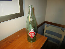 "Vintage Empty Royal Crown RC Cola SODA BOTTLE 12"" tall"