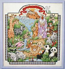 """Linda Gillum The Animals Came """"Two by Two"""" Counted Cross Stitch Pattern"""