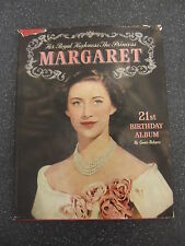 PRINCESS MARGARET 21st BIRTHDAY ALBUM by GWEN ROBYNS ** PITKINS H/B with D/W **