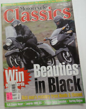 Motorcycle Classics Magazine Rocketry From Honda & Vincent July 1998 012615R