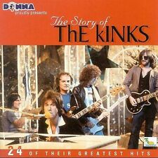 Story of the Kinks: 24 Greatest Hits by The Kinks (CD, Oct-2000, Donna)