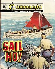 Commando For Action & Adventure Comic Book Magazine #890 SAIL HO!