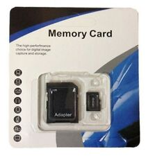 NEW 64GB Micro SD Memory Card SDHC TF Flash Class 10 Retail Pack Free SD Adapter
