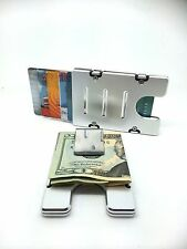 Silver BilletVault Wallet/Credit Card Holder, Aluminum, RFID protection