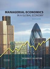 Managerial Economics in a Global Economy by Dominick Salvatore (2014, Hardcover)