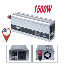 1500W 12v DC TO 110v AC car truck automotive POWER INVERTER Converter DY