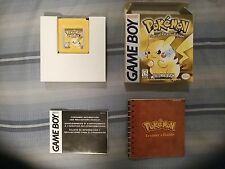 Complete [CiB] Pokemon Yellow Special Pikachu Edition Near Mint Gameboy Color
