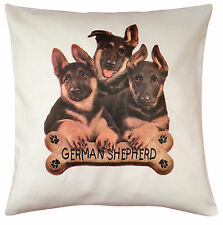 German Shepherd Puppy Breed of Dog Cotton Cushion Cover - Perfect Gift