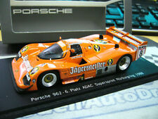 PORSCHE 962 C Supersprint 1988 #8 Brun Schäfer Jägermeister Spark limited 1:43