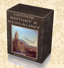 610 History Genealogy London Books 3x DVD - Parish Registers Survey Directory B0