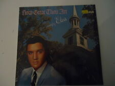 Elvis Presley ‎– How Great Thou Art  - ORANGE LABEL - RCA Victor  Vinyl LP