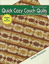 Quick Cozy Couch Quilts Sandy Thompson 2008