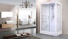 1200 x 800 ALL IN ONE HYDRA POD SHOWER CABIN ENCLOSURE TRAY ROOF JETS MIXER TAPS