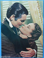Gone with the Wind movie program VIVIEN LEIGH Clarke Gable