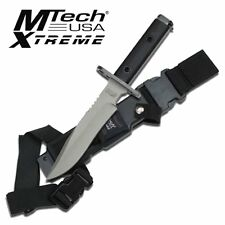 Mtech Knives MX-8077 MTech Xtreme Bayonet Knife Full Tang G-10 Handle Sheath