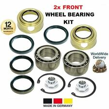 FOR SUZUKI SWIFT 1.3 1.6 GTi 1989-2001 NEW 2x FRONT WHEEL BEARING KITS COMPLETE