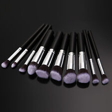 10PCS Pro Makeup Cosmetic Brushes Set Face Eyeshadow Nose Foundation Lip Brush