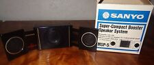 New Old Stock Sanyo Super-Compact Booster Speaker System MSP-5