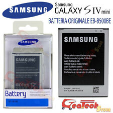 Batteria Originale Samsung 1900mah per Galaxy S4 mini I9195 in Blister EB-B500BE